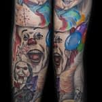 Lisa DeLauder Tattoo Artist horror movie sleeve 8