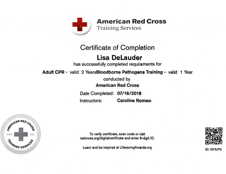 TATTOO MAFIA, INC. Lisa DeLauder American Red Cross BBPT 2019