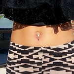 Robert Chambers Body Piercer navel piercing